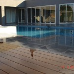 deck, pool and extension works