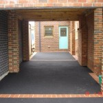 matching brickwork carport