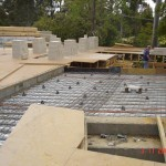 pool slab ground level